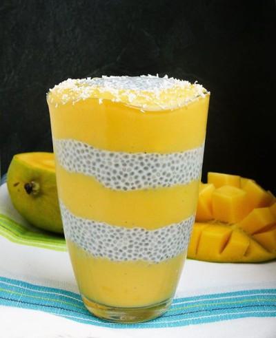 Mango Chiapudding