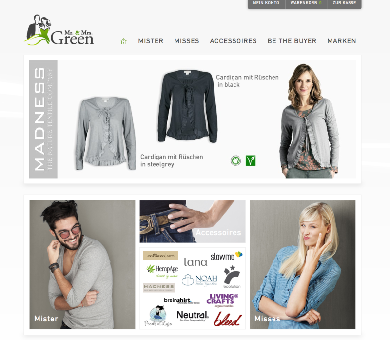 Mr Mrs Green Online Shop