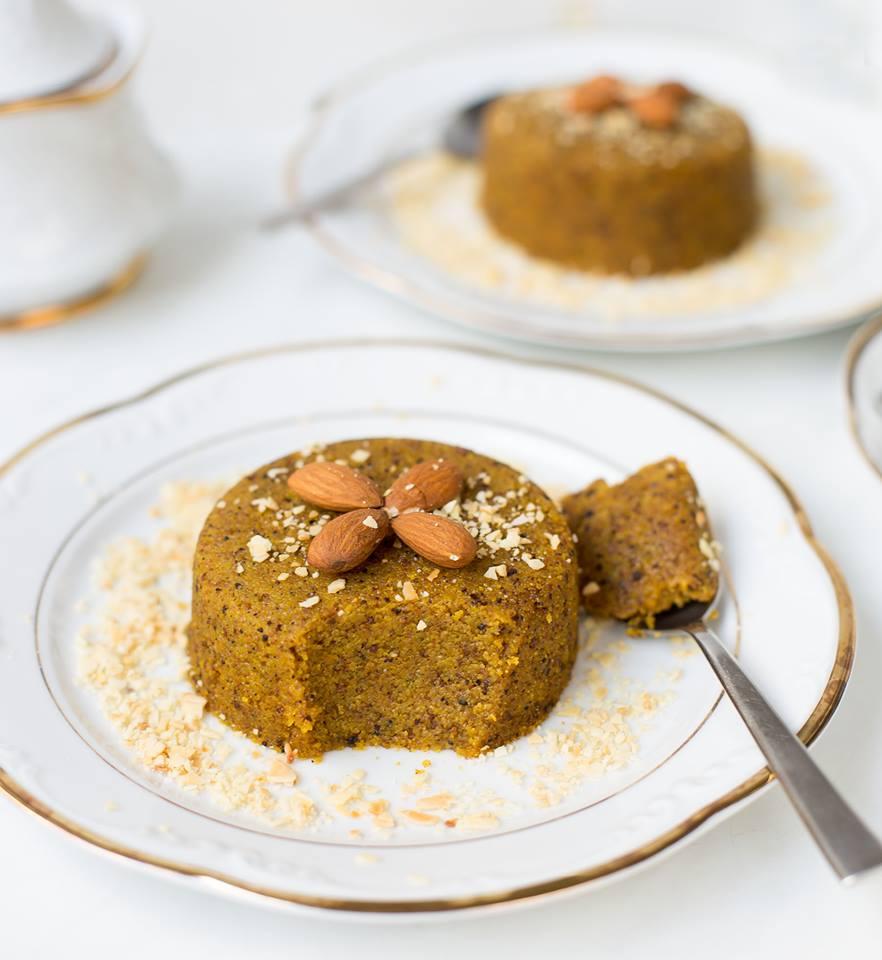 Grieß Dessert