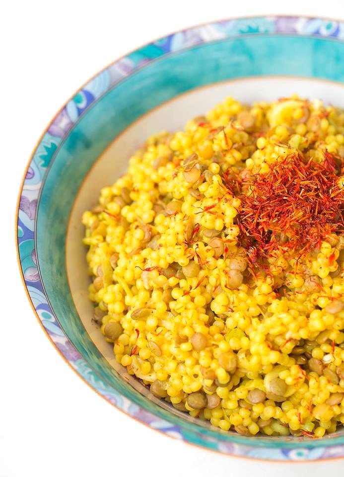 Warmer curry salat
