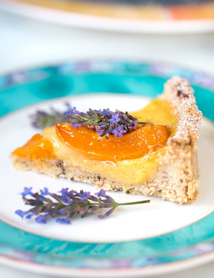 Vegane Aprikosen Tarte