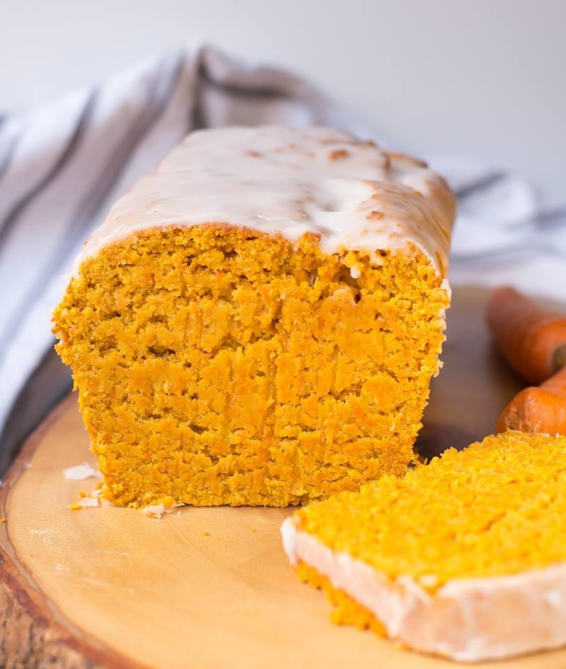Glutenfreier Karottenkuchen Mit Kokos Und Zimt Healthy On Green