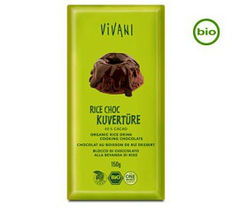 Vivani Bio RICE CHOC 40% CACAO Kuvertüre, 150g