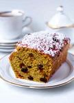 Cranberry-Haselnuss-Kuchen